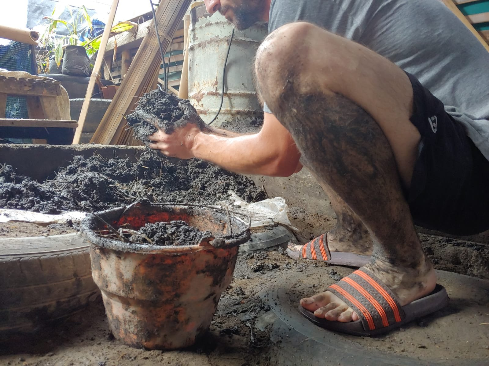 Cob builder